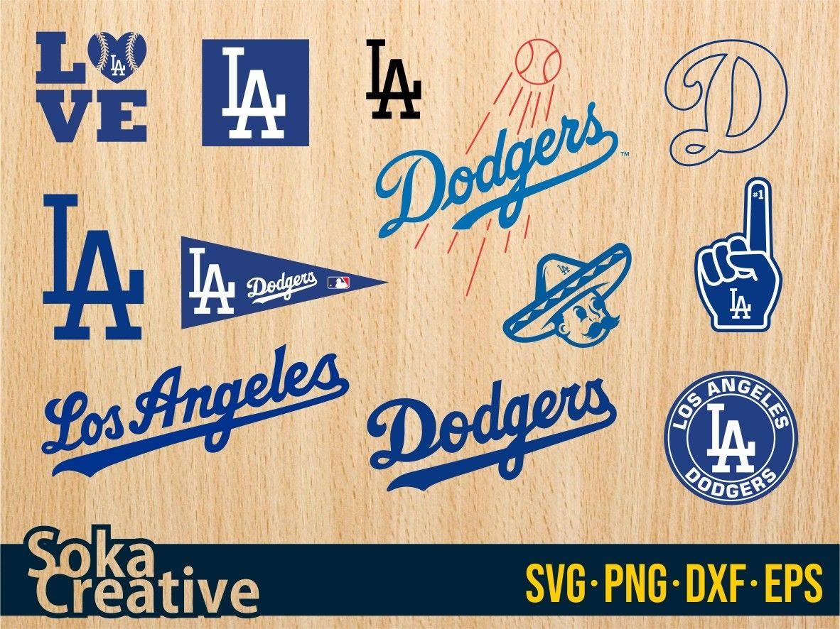Los Angeles Dodgers SVG Bundle Vectorency in 2020 Los