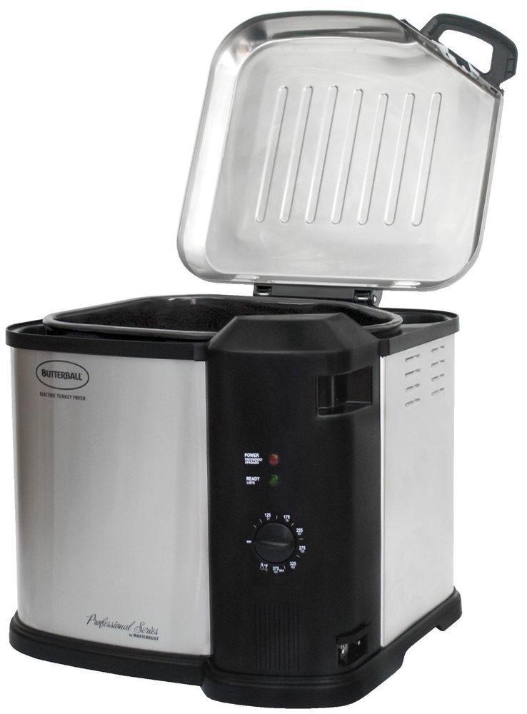 120 00 Indoor Turkey Fryer Masterbuilt 23011014 Butterball