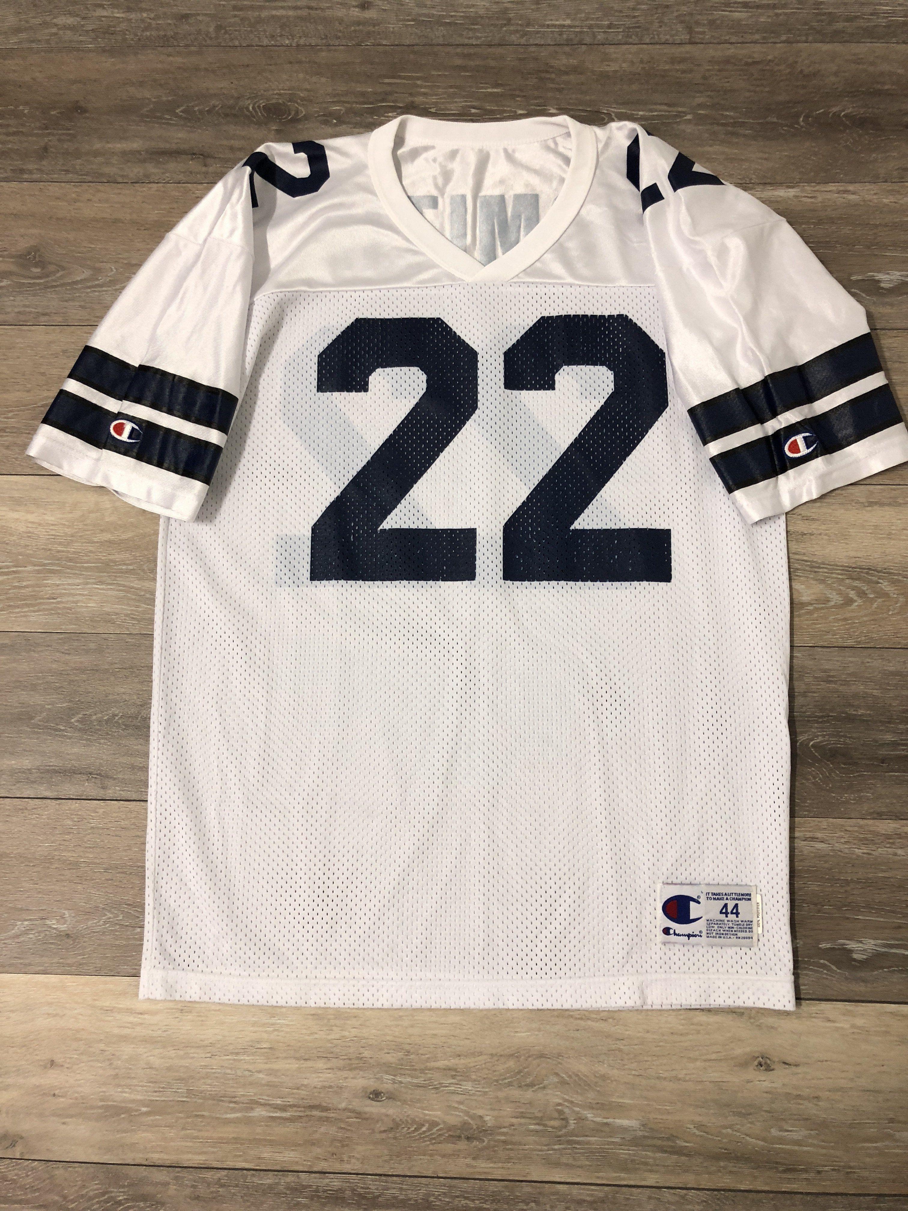 b82dc65aa Emmitt Smith Dallas Cowboys Vintage Champion NFL Jersey 44 ...