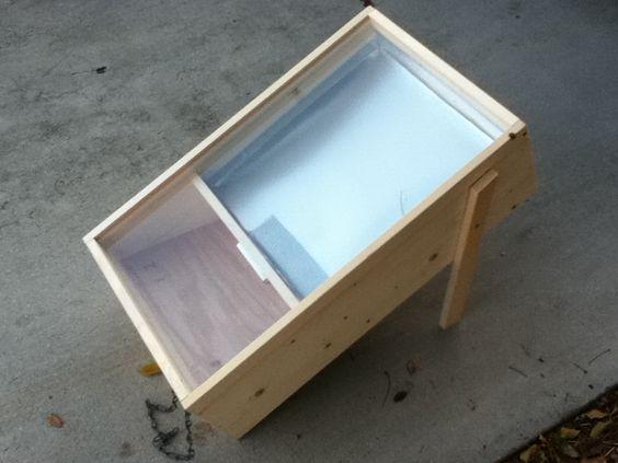 Plans Building Solar Wax Melter