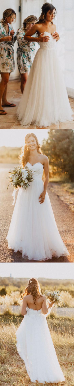 White wedding dresses long wedding dresses beach sweetheart white