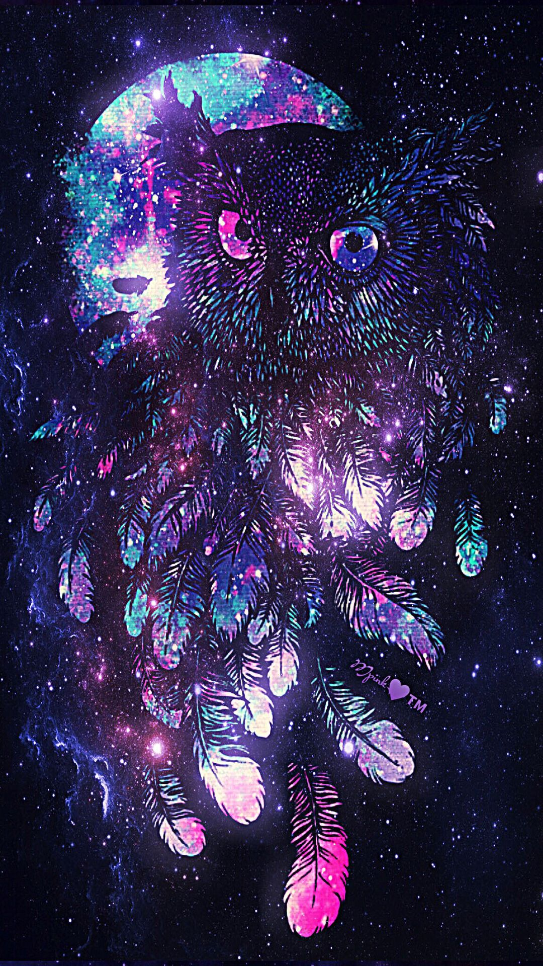 Owl Galaxy Wallpaper Galaxy wallpaper
