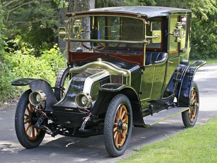 1912 Renault Type-CB Coupe de Ville by Kellner-et-ses-Fils retro luxury g