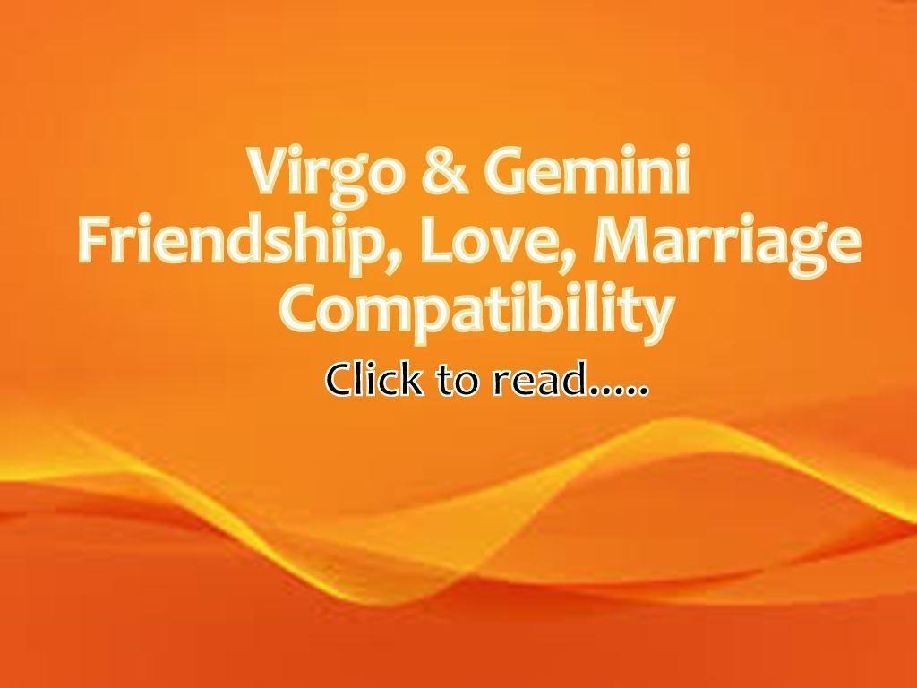 Virgo dating virgo compatibility