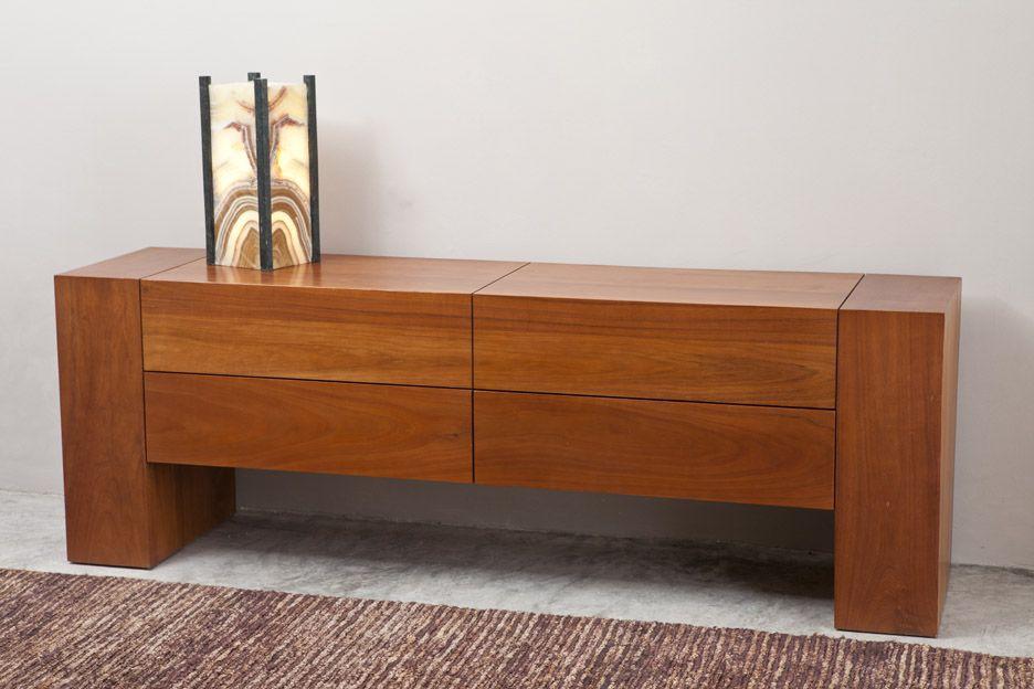 Credenza Moderna En Caoba : Bufetero modernista elaborado en caoba muebles furniture