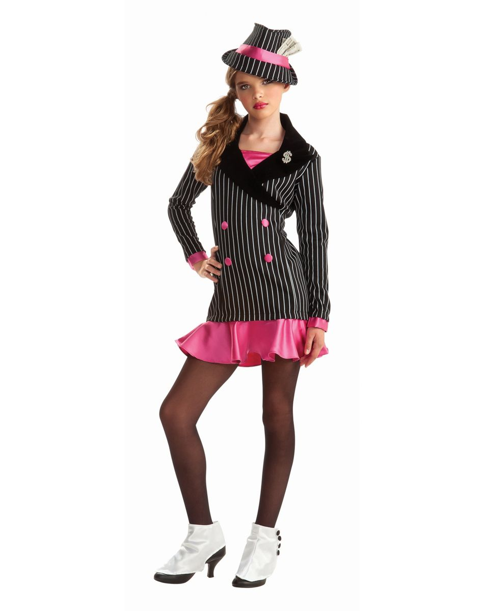 Gangster Tween Costume. Perfect thing for that Pimp & Ho party ...