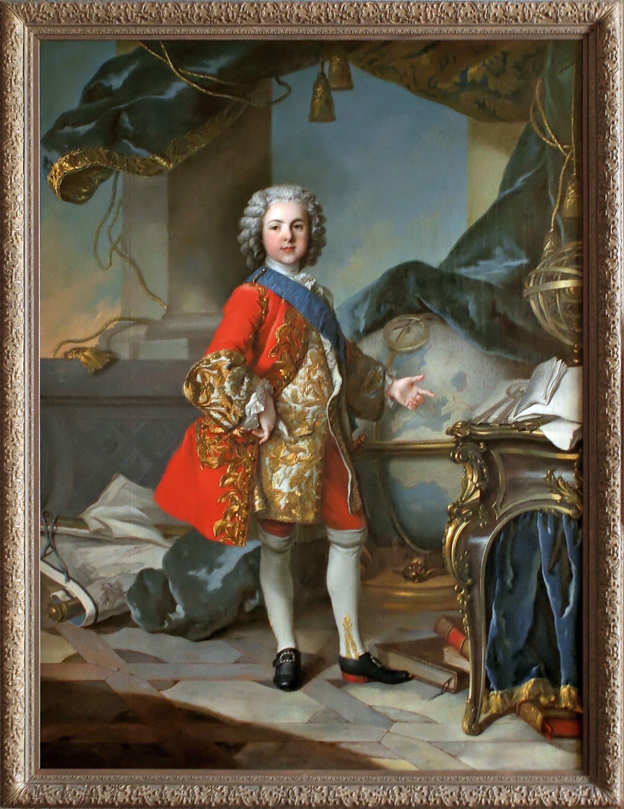 Workshop of Louis Tocqué: Portrait de Louis de France, Dauphin fils de Louis  XV. ca. 1738. | Peinture historique, Dauphin, Portrait de mariée