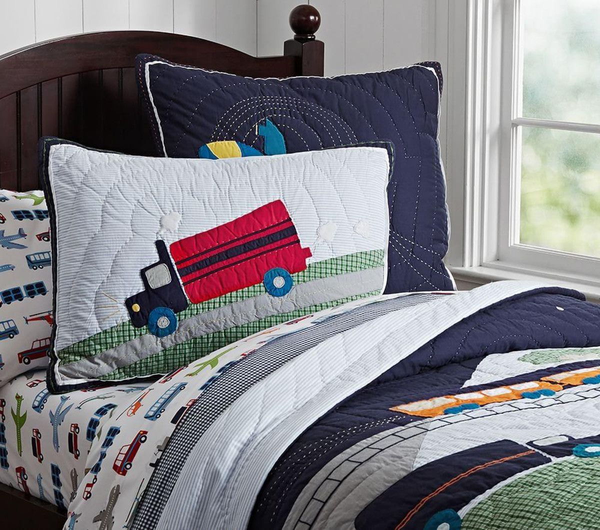 kids piece quilt with stripe room for pillow set decorative hart pin laura boy quilts bonus mason