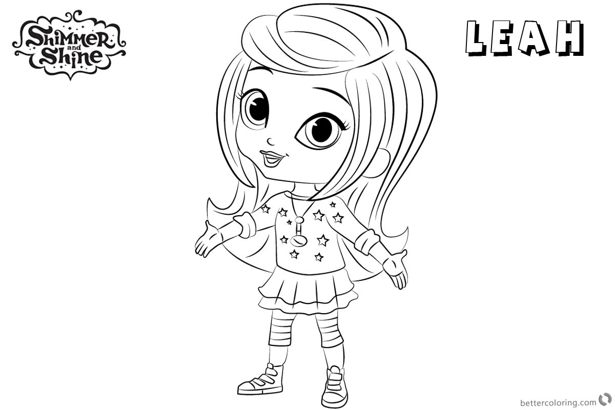 Shimmer And Shine Coloring Pages Lineart Picture Free Printable Coloring Pages Printable Coloring Pages Coloring Pages Free Printable Coloring Pages