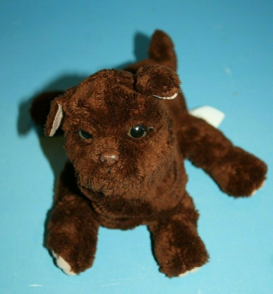 Furreal Newborn Puppy Dog Brown Plush Chocolate Lab Stuffed Soft Toy Interactive Hasbro Animal Plush Toys Newborn Puppies Plush Dog