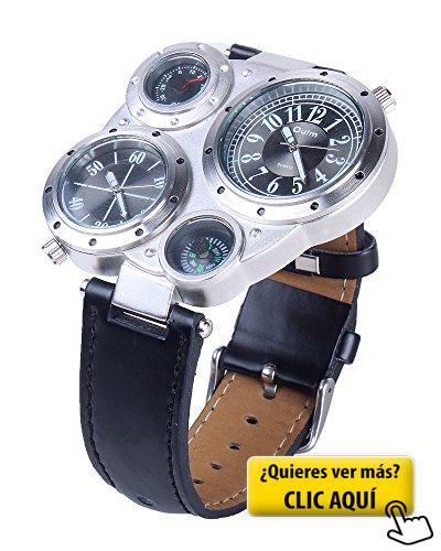 ff828a885a6 Reloj Pulsera Quartz Análogo de Cuero PU Unisex... #reloj | Relojes ...