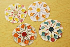 Whimsical world of laura bird paper flower tutorial paper whimsical world of laura bird paper flower tutorial scrapbook mightylinksfo