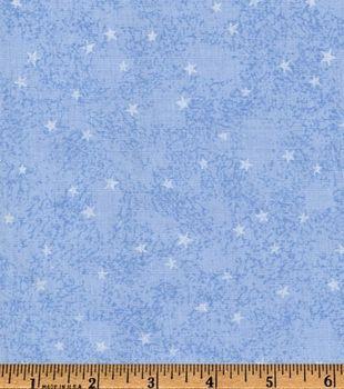 Recuerdo de calicó ™ tela de algodón-Blue Star