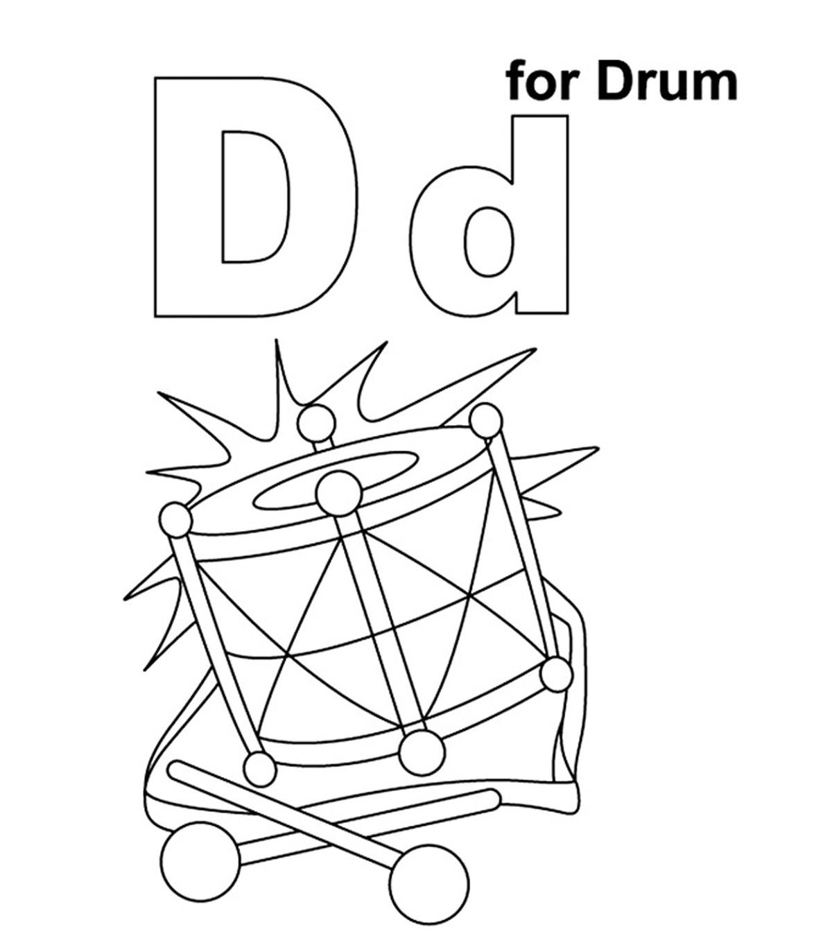 Drums Coloring Pages Best Coloring Pages For Kids Coloring Pages For Kids Coloring Pages Drums