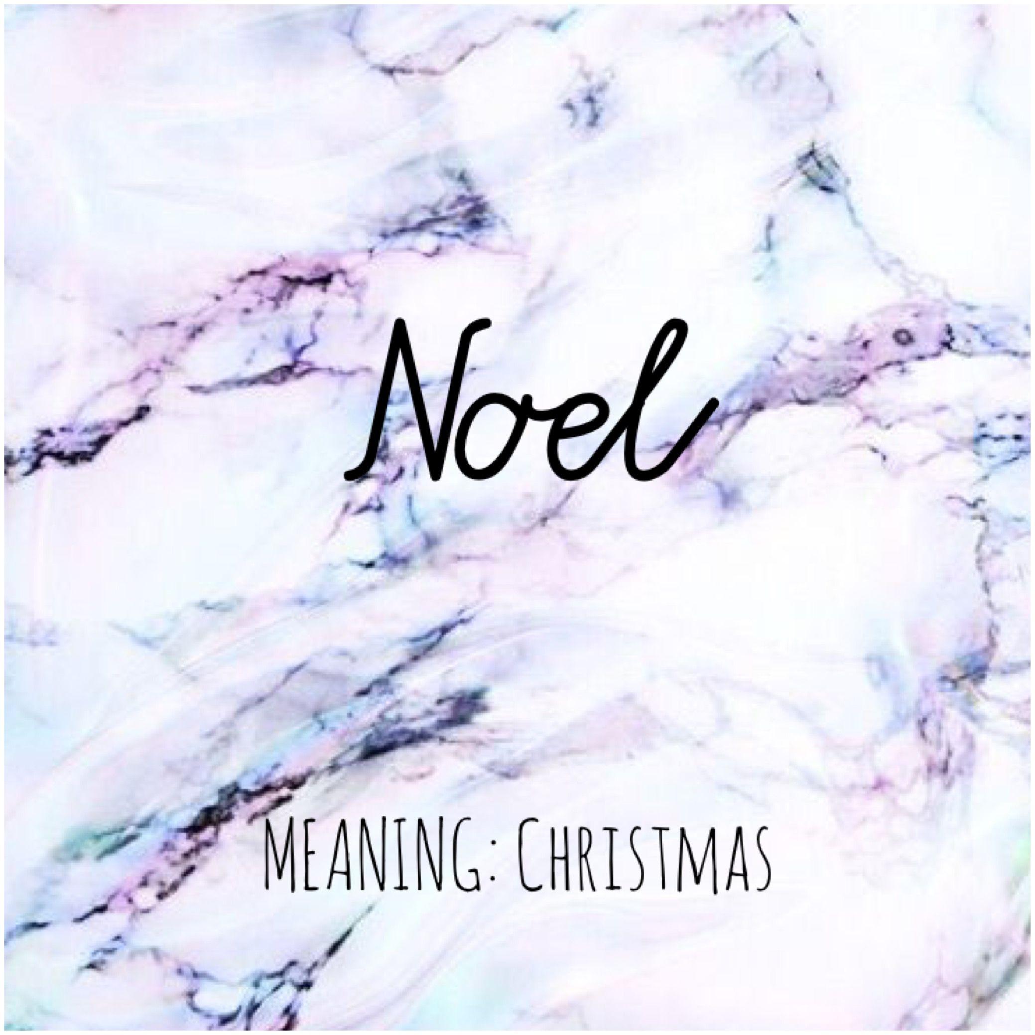 NOEL #Names #Noel #BabyNames (With images) | Unusual baby ...