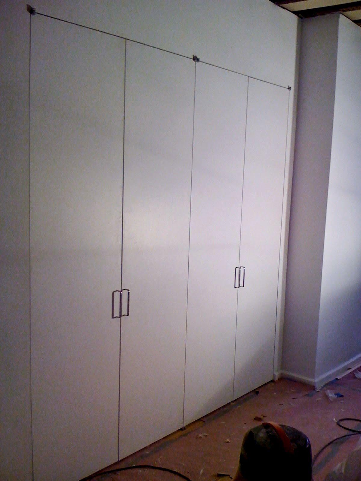 Pivot Hinge Flush Closet Doors MANSFIELD RESIDENCE