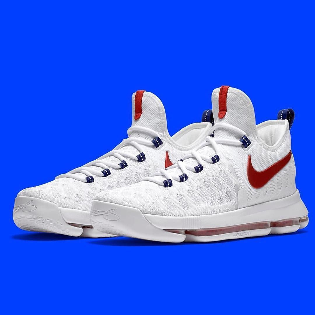 When Kevin Durant and the rest of Team USA travel to Rio de Janeiro for the  2016 Olympic Games, he will have on the Nike KD 9 \u0027USA\u0027 edition.