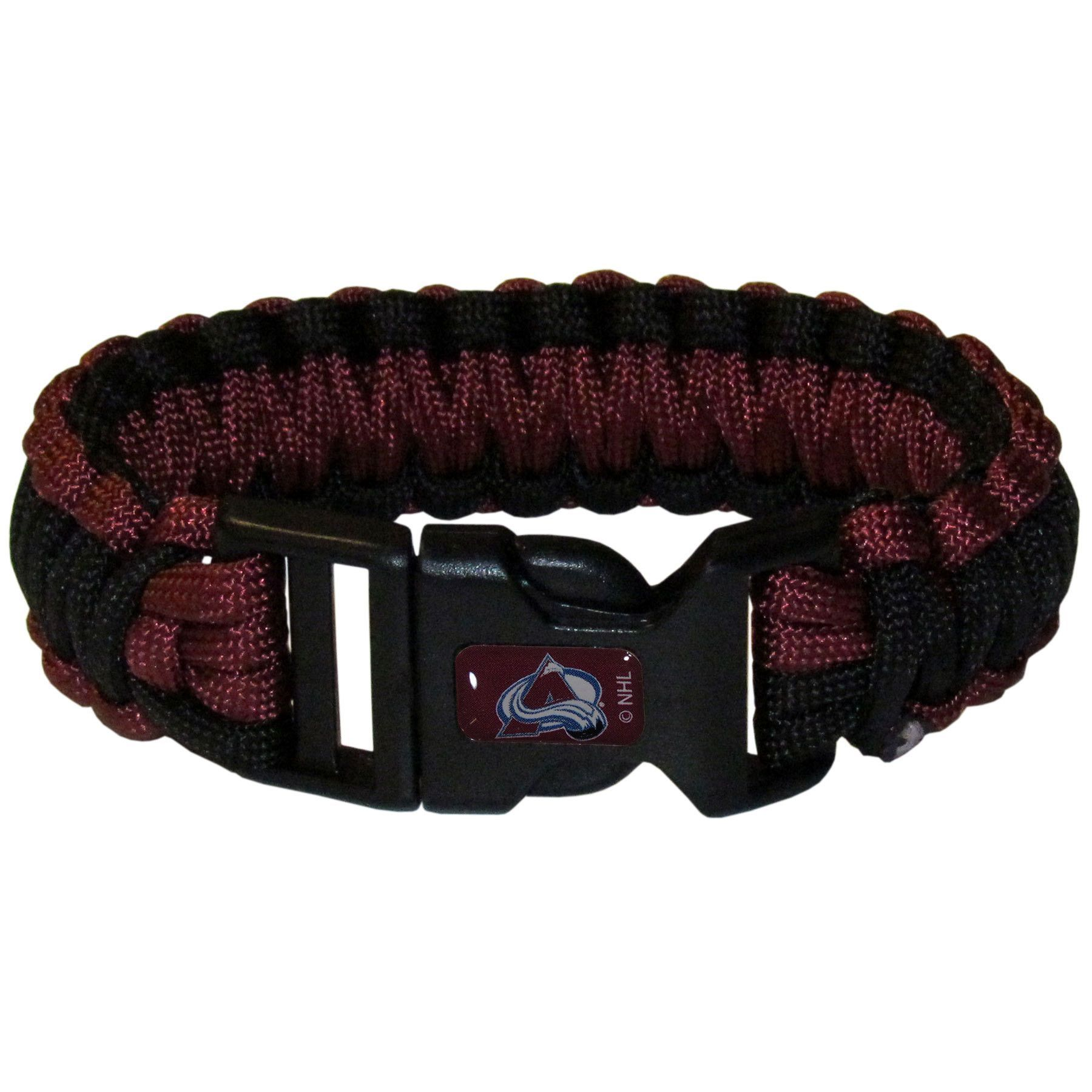 Colorado Avalanche Survivor Bracelet