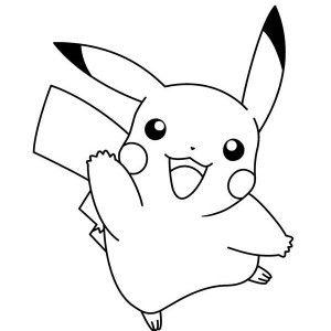 Little Pikachu Pokemon Coloring Pages Bulk Color Pokemon