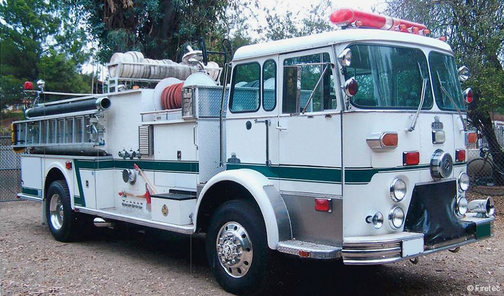 Used Fire Truck: 1970 Crown Triple Combination 4WD - for