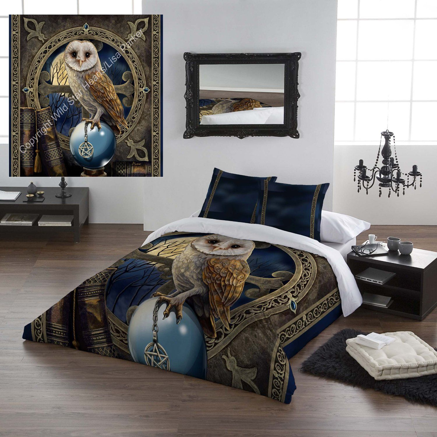 Wild Star Home Duvet Cover Set, Queen Size, The Spell