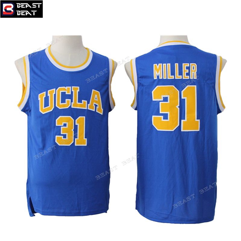 a62f9d46be22 ... low cost reggie miller 31 ucla basketball jerseys throwback cheap  original nba jerseys mens reggie miller