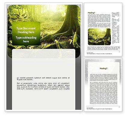 jungles powerpoint template http www poweredtemplate com word