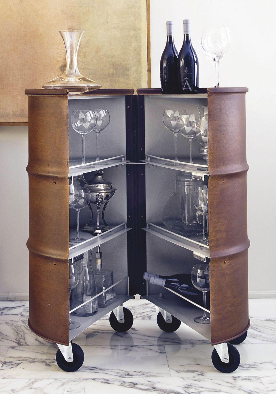 Barrel12 Francesca Cutini Recicla Los Barriles Y Los Convierte En  # Muebles Sostenibles