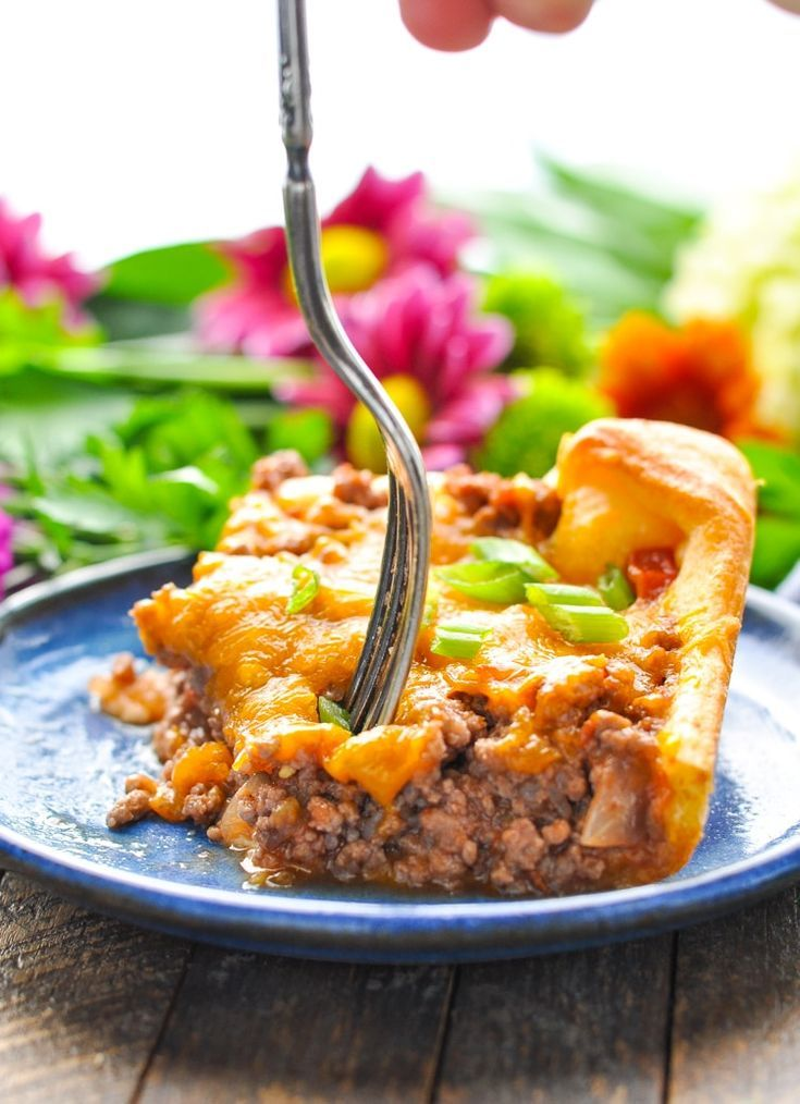 4-Ingredient Ground Beef Casserole | Recipe | Ground beef ...
