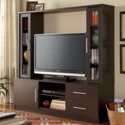 Modern Lines Entertainment Center from ginnys.com