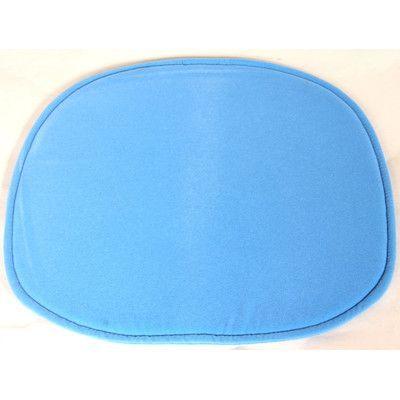 Stilnovo Lounge Chair Cushion Fabric: Blue