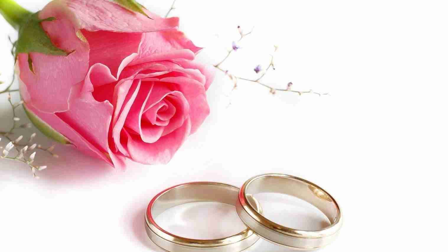 New Post wedding rings and flowers wallpaper | Weddings | Pinterest ...