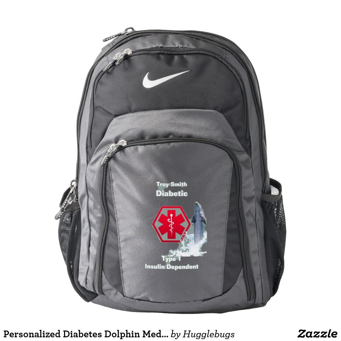 23a4b92bb4 Personalized Diabetes Dolphin Medical Alert Diabetes Alert Carry All  Diabetic Type 1 or 2 Personalized Medical Alert  diabetic  diabetes   medicalalert ...