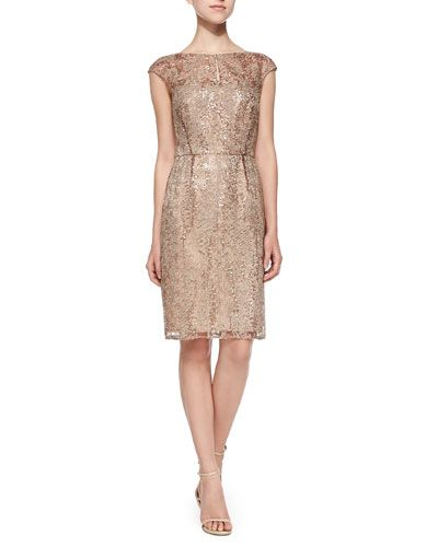505d14d7927 Cocktail dress - Kay Unger. Feminine silhouette great for events ...