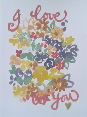 Clare Makes: hand drawn cards