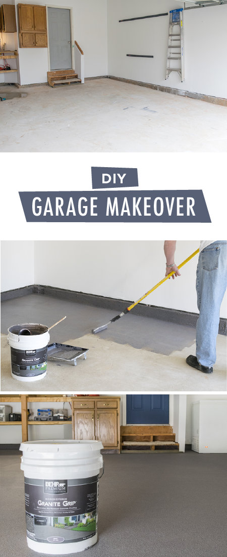 How to Coat Your Garage Floor to Update the Look -