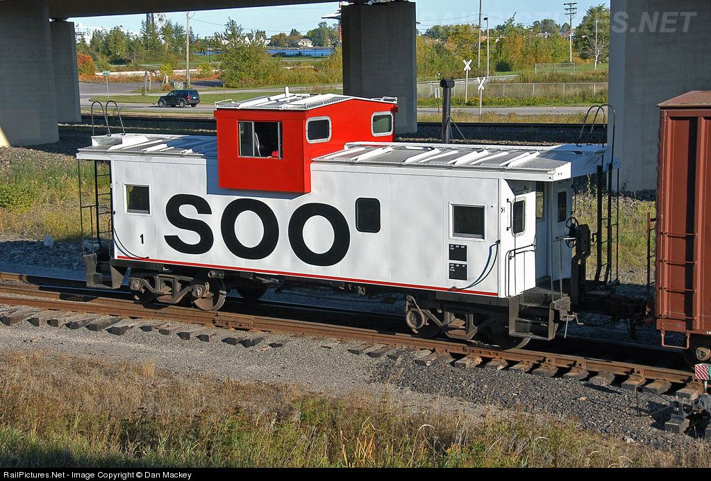 RailPictures Net Photo: SOO 1 Soo Line Caboose at Duluth