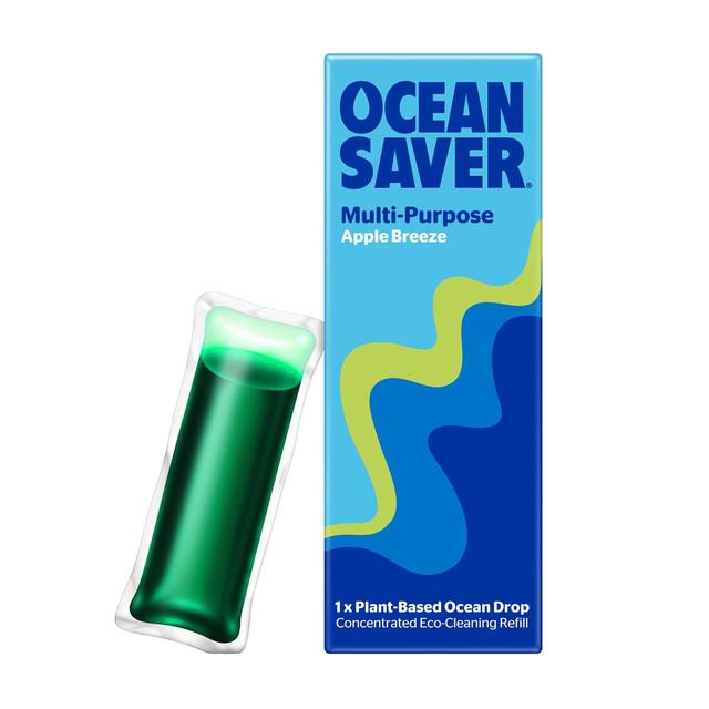 Oceansaver Refill Drop Multipurpose Apple Ocado In 2020 Plant Based Cleaner Multipurpose Cleaner Palm Oil Free Products