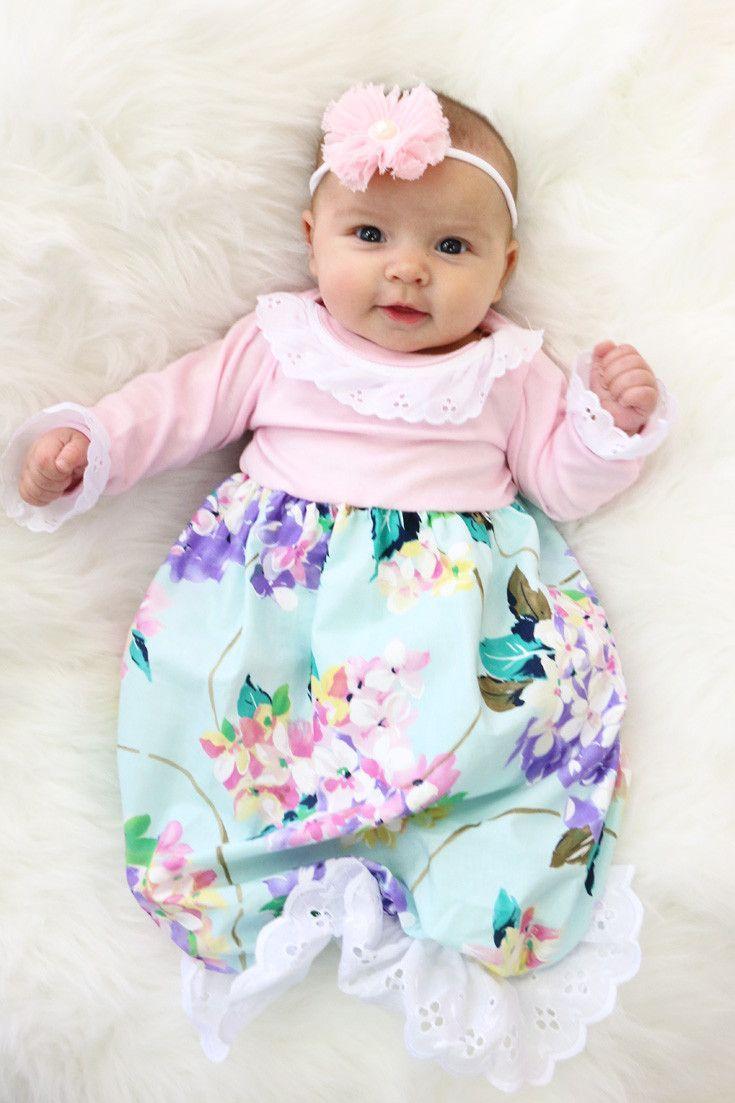 8 Cute Newborn Baby Girl Dresses - Nursing Freedom  Cute newborn