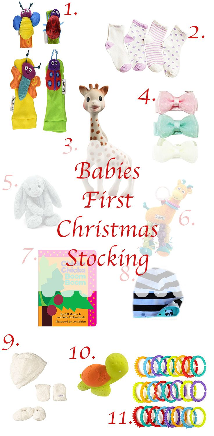 Stocking Stuffer For Babies First Christmas