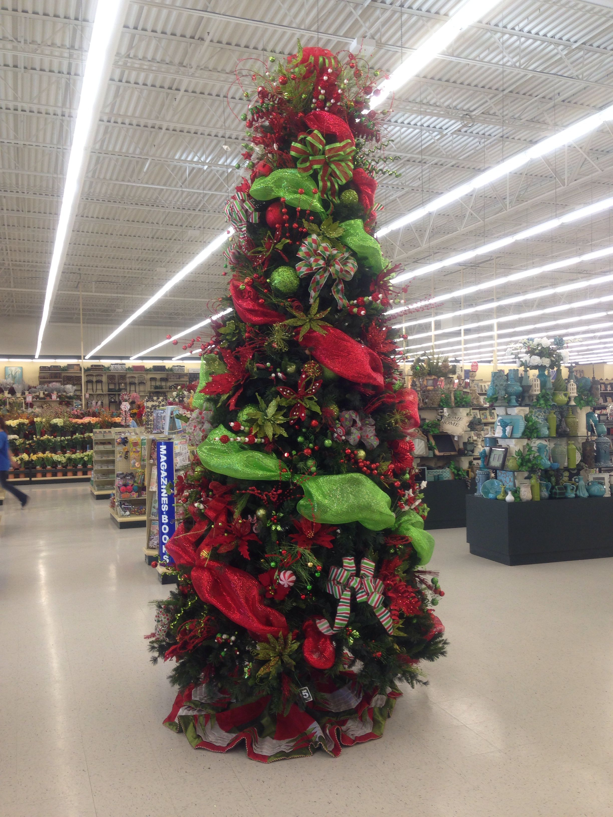 decorated christmas tree hobby lobby
