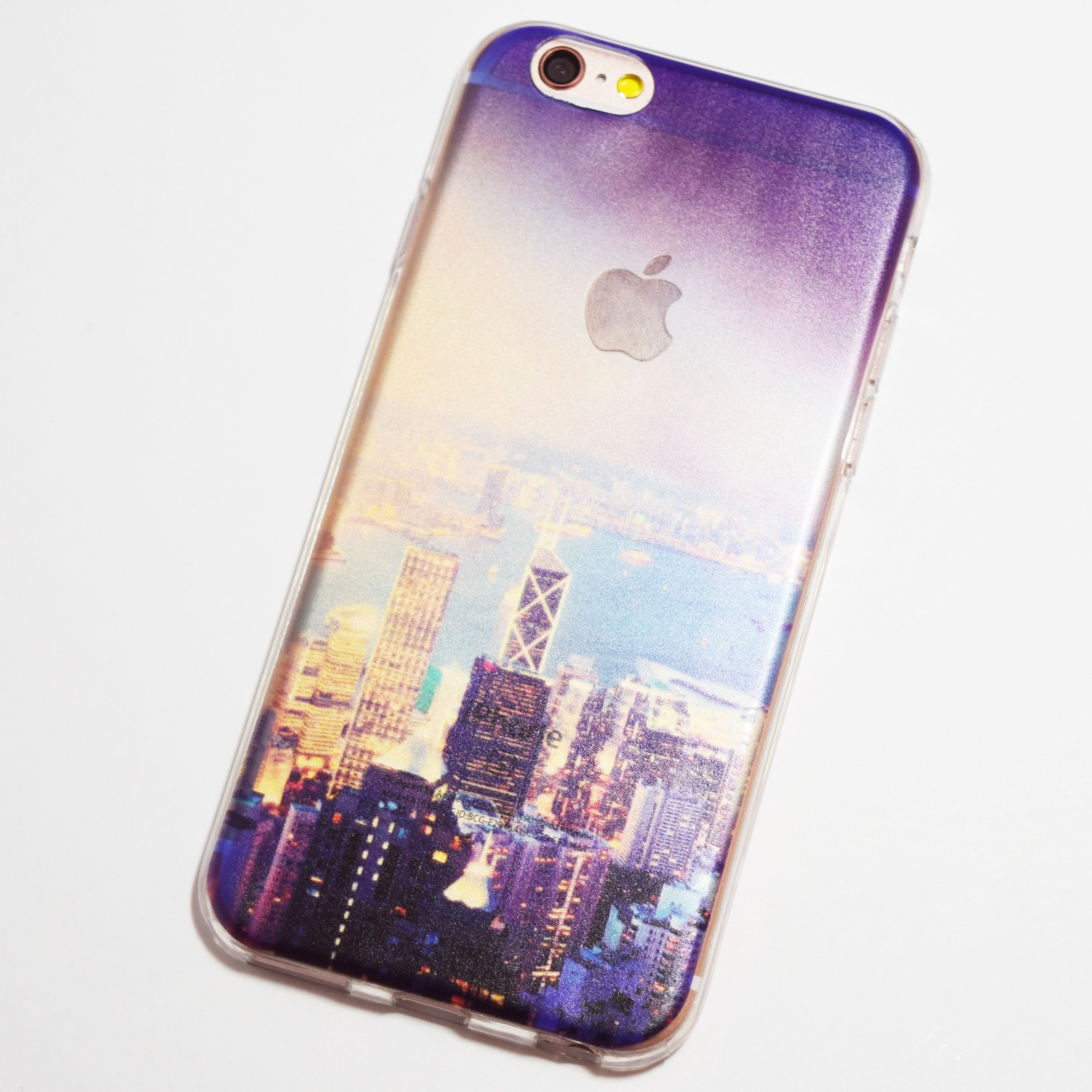 Hong Kong Skyline Bank of China Tower iPhone 6 iPhone 6S Soft Case