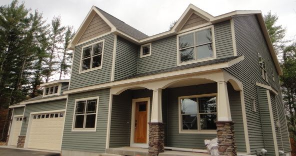 Vinyl siding in traverse city mi different view curb for Ranch homes with vinyl siding