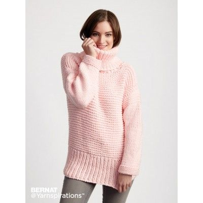 Free Easy Knit Pullover Pattern | Knitting | Pinterest | Números ...