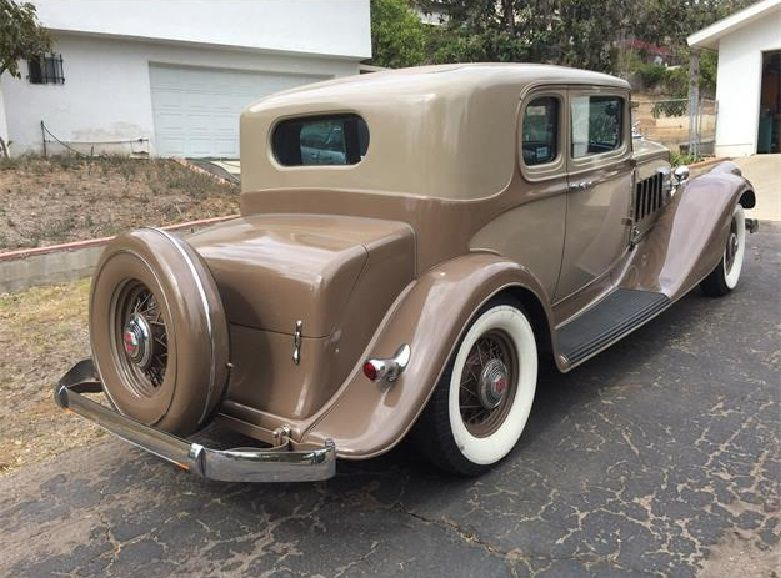1933 Pierce Arrow V 12 Cylinder 1236 Brougham Coupe Classic Car
