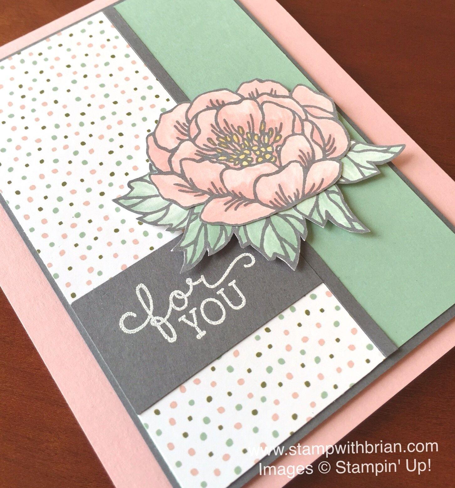 Birthday Blooms Birthday Bouquet Designer Series Paper Stampin Up
