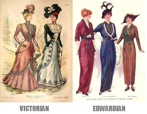 Victorian And Edwardian Cultures Were More Distinct Than People Realize Description From Silentology Wordpre Edwardian Era Fashion Edwardian Fashion Edwardian