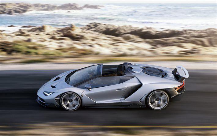 Download Wallpapers Lamborghini Centenario Roadster Supercar