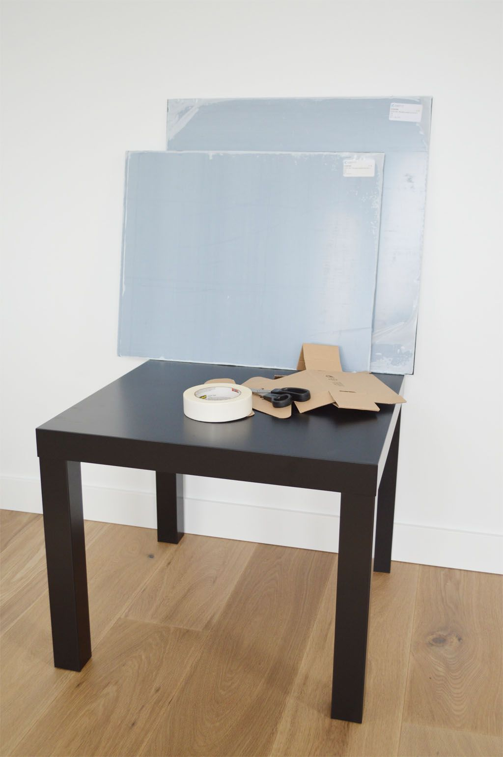 Plexiglas Couchtisch Ikea Hack Lack Table With Plexiglas Ikea Hack Lack Tisch Mit