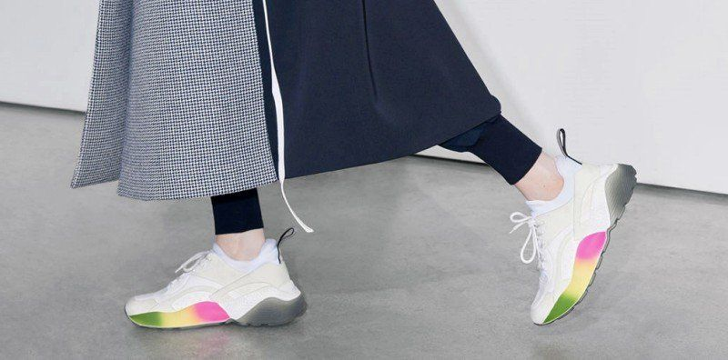 Review Mccartney Eclypse Rainbow Stella Sneakers htdCsrQx